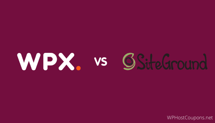 WPX Hosting vs SiteGround